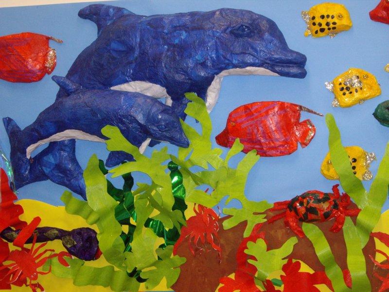 under water world paper craft gallery art solutions